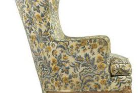 How To Reupholster A Wingback Armchair How To Measure For Reupholstering Wingback Chairs Home Guides