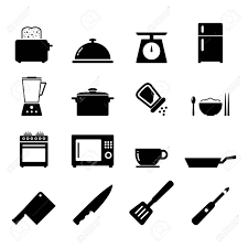 kitchen icon kitchen icon royalty free cliparts vectors and stock illustration