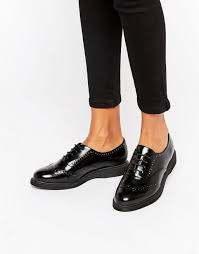 look womens boots size 9 look leather brogue black shoes look boots size 9