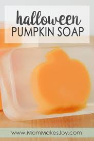 Halloween Themed Gifts Diy Spooky Skull Soap U0026 Pumpkin Soap Tutorial Mom Makes Joy