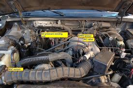 ford ranger egr valve problems egr pressure sensor the ranger station forums