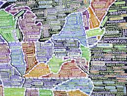 Utah Zip Codes Map by Paula Scher U0027s Insanely Detailed Us Maps Elevate Data Viz To Fine