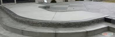 Brushed Concrete Patio Stamped Concrete Patio Custom Concrete Patio Wny Buffalo Ny