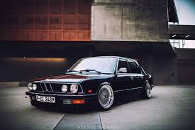 super lowered cars bmw e28 with bbs rs stanceworks low car bmw pinterest