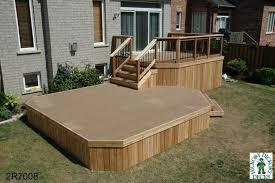 how to build a deck nz deck plan 2r7008 diy deck plans