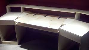 diy reception desk construction drawings pdf download free furniture how to build a desk from scratch img how to build desk