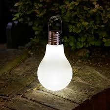 Colour Changing Solar Garden Lights - smart solar eureka omega giant colour change solar light bulb