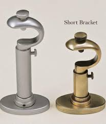 Magnetic Curtain Rod Becket Short Bracket Country Curtains