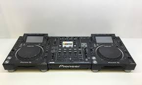 pioneer dj cdj 2000nxs2 djm 900srt used pack