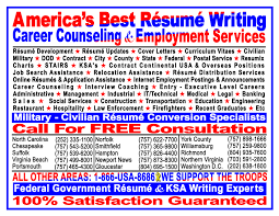 Sample Military Resumes by Military To Civilian Resume Writers Resume For Your Job Application