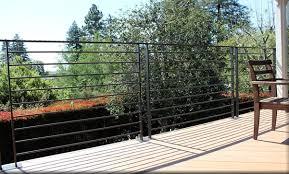 wrought iron iron gate handrail pedestrian gate walnut creek