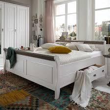 Schlafzimmer Bank Grau Schlafzimmer Einrichtung Benfitas In Weiß Grau Pharao24 De