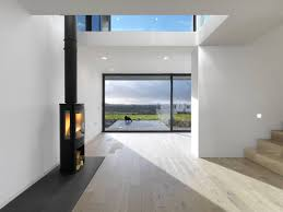 upside down house new dwelling dinas powys loyn co architects