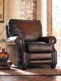 Living Room Recliner Chairs Lansing Leather Armchair Recliner Pottery And Barn