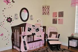 Brown And Pink Crib Bedding 10pc Pink Brown Crib Bedding Nursery Set Pink Brown New W