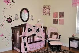 Pink Brown Crib Bedding 10pc Pink Brown Crib Bedding Nursery Set Pink Brown New W