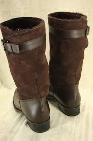 tod u0027s boots tod u0027s gomma brown mid calf riding boots sz 41 11b us