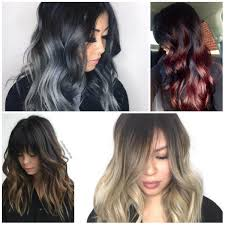 coloring hair gray trend name ombre best hair color ideas trends in 2017 2018
