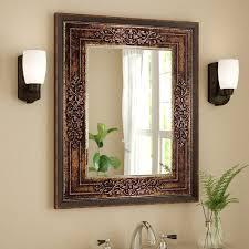 Bathroom Vanities Mirror Astoria Grand Bronze Cherry Bathroom Vanity Mirror Reviews Wayfair