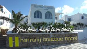 harmony boutique hotel in mykonos greece hd mp4 youtube