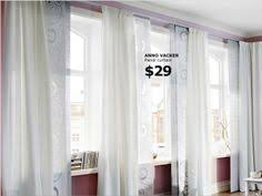 Ikea Panel Curtains Curtains Or Panel Curtains Both The Kvartal Track System Makes