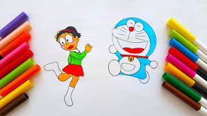 doraemon troll nobita turn into a how to draw doraemon and