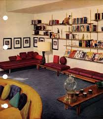home interior book 51 best mid century interior decorating scans from 50s