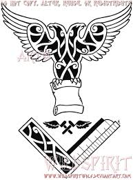 masonic eagle knotwork tattoo by wildspiritwolf on deviantart