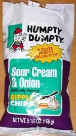 Ripple Chips Dumpty Sour Cream U0026 Onion Ripple Chips