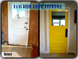 mustard yellow kitchen door painting project with before u0026 after