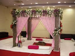 Marriage Home Decoration Indian Wedding Bedroom Decoration The Glamorous Color Of Indian