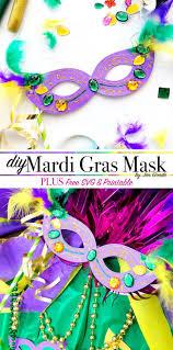 diy mardi gras masks diy mardi gras masks with free svg 100 directions