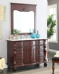 50 Inch Bathroom Vanity by Enjoy The Beauty And Luxury Adelina 26 Inch Petite Antique