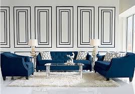 sofia vergara mandalay charcoal sofa picture of sofia vergara monaco court indigo 5 pc living room from