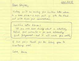 a letter to my mom this is a letter my mom wrote to me when mom