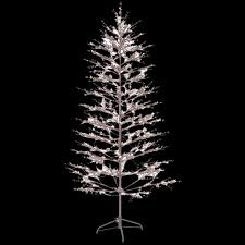 6 5ft brown winter berry lighted metal branch tree christmas