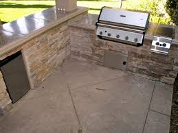 kitchen floor idea selecting outdoor kitchen flooring hgtv