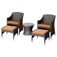 Chairs With Ottoman Patio Chair Nesting Ottoman Target