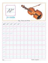 cursive small letter v practice worksheet divi pinterest