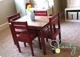 Children S Chair And Table Diy Children U0027s Play Table That Cost Less Than 30 In Wood Awesome