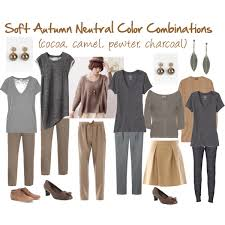 Neutral Color Soft Autumn Neutral Color Combinations