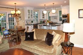 open kitchen living room designs winsome design 11 small floor