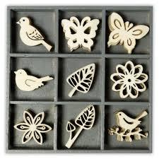 stickytiger wood ornament floral filigree embellishment box