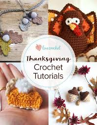 pinteresting projects free thanksgiving crochet patterns from