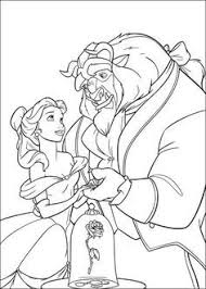 free printable coloring pages disney princess beast
