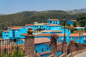 juzcar spain u0027s blue smurfs village