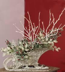 sleighs as table pieces my ideas
