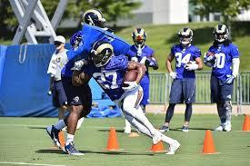 Tim Barnes St Louis Rams St Louis Rams Training Camp Updates Week One Recap
