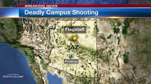Map Of Northern Arizona by Officials 1 Dead 3 Wounded In University Shooting In Arizona