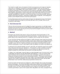 sample report 44 examples in word pdf